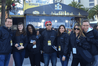 Brand Ambassador program with Uber at Super Bowl 50 in San Francisco.