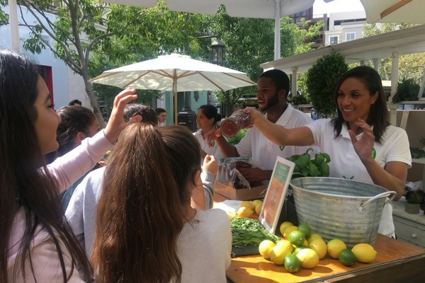 Brand Ambassador program with Nestea at National Iced Tea Day event in Los Angeles